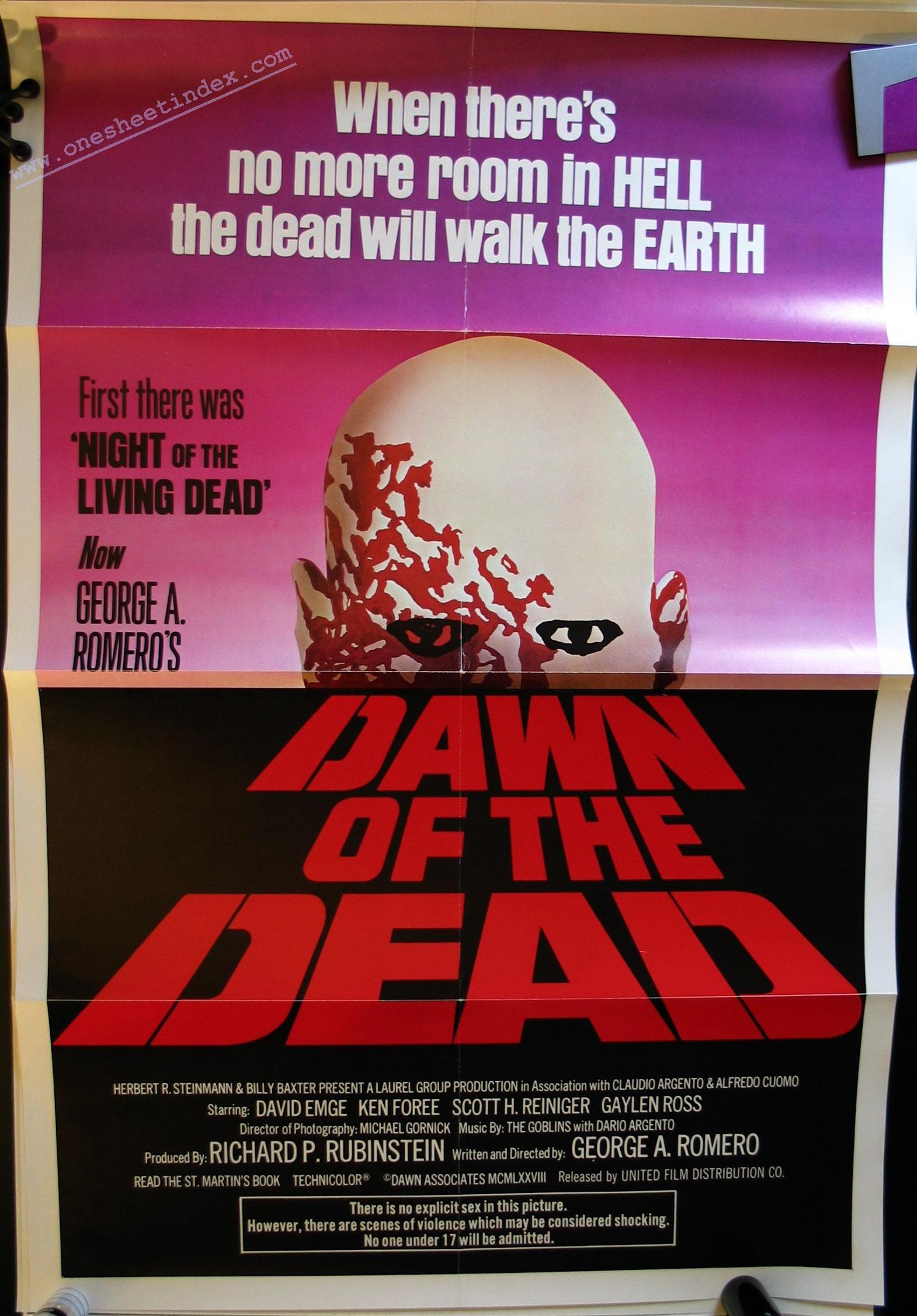 Dawn of the Dead 1978 (alternate) The dead movie