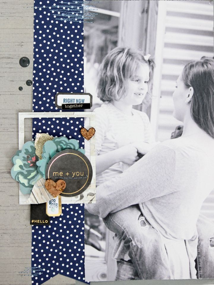 Layout by Jot Girl Mardi Winen for our May Mood Board.