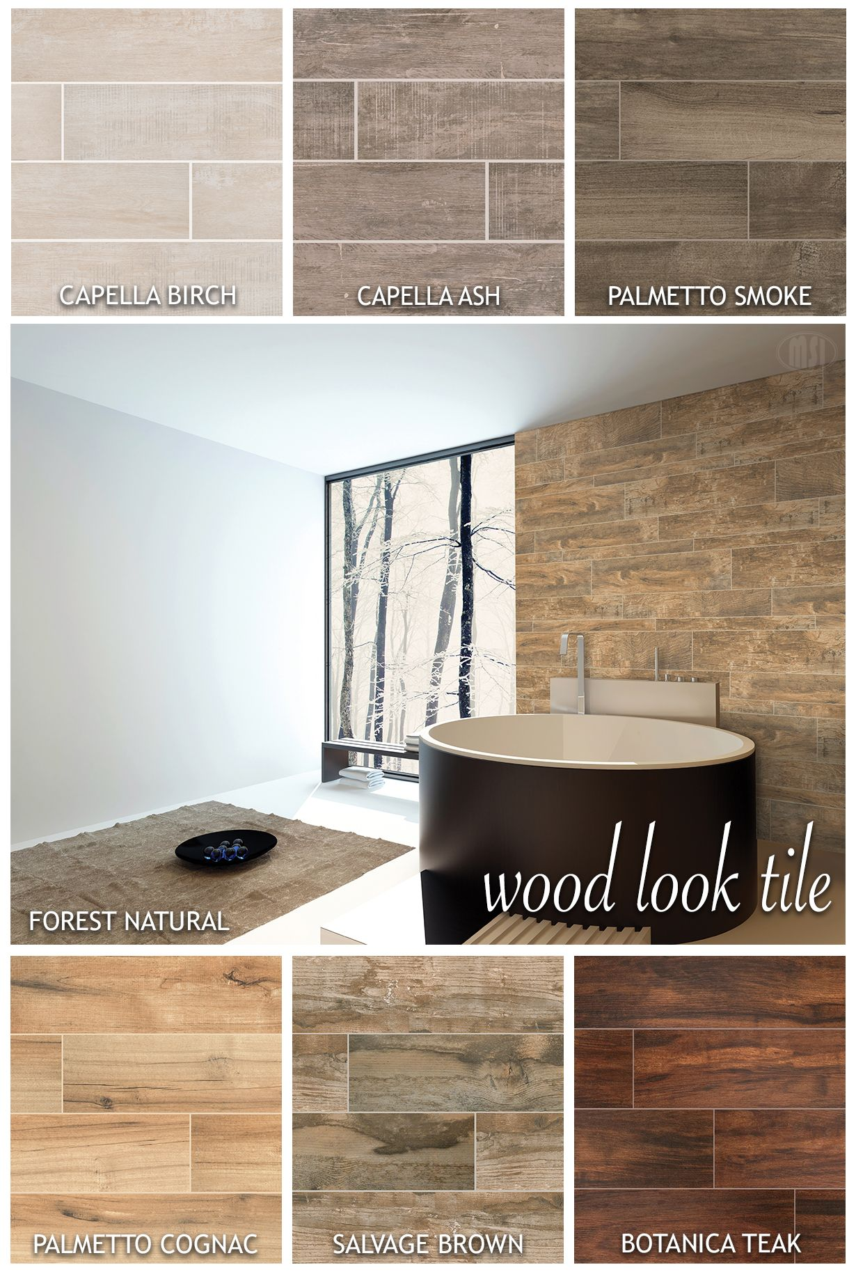 Move over hardwood Wood look tile is taking center stage These new