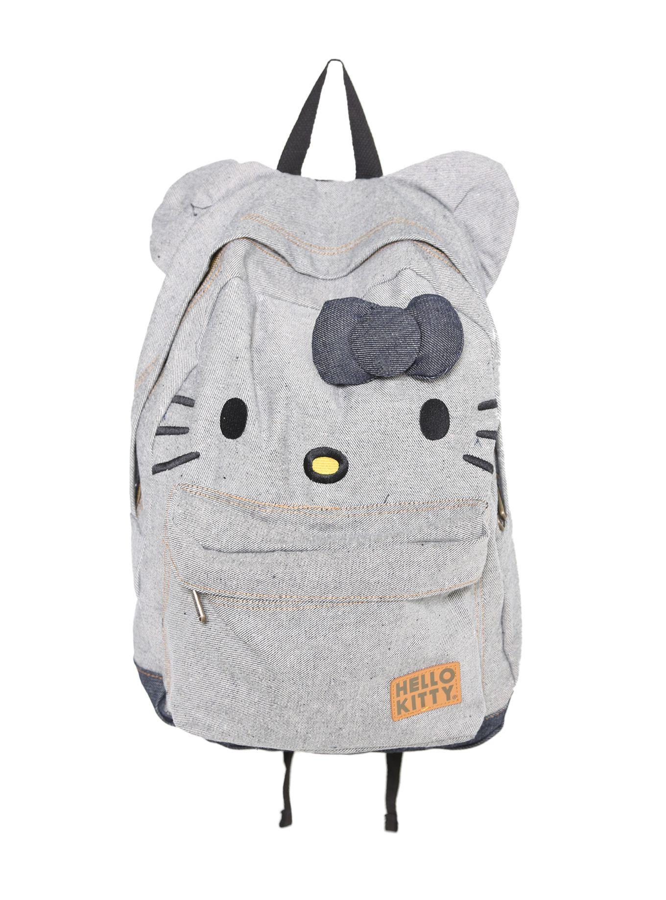 Loungefly Hello Kitty Denim Backpack ( 34.50)   Hello Kitty  3 ... 0b1de14c1d