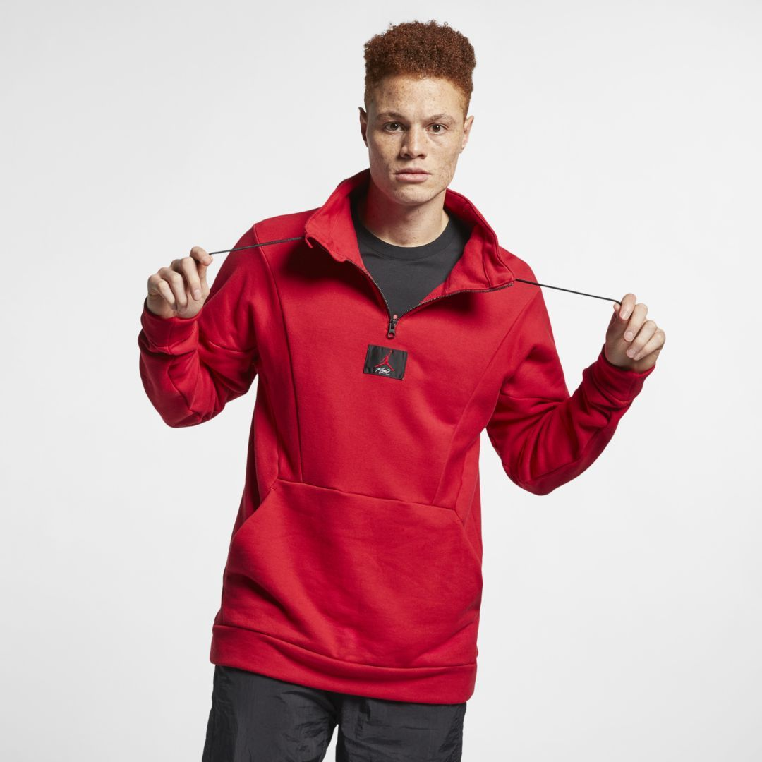 Giacca Uomo Half Zip Microfleece Activewear