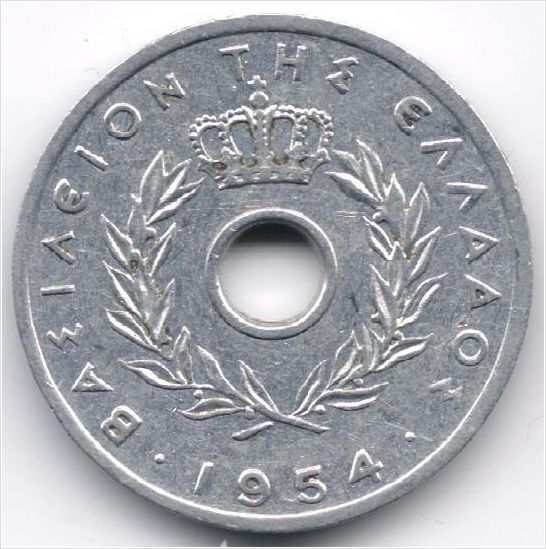 Greece 10 Lepta 1954 op eBid België