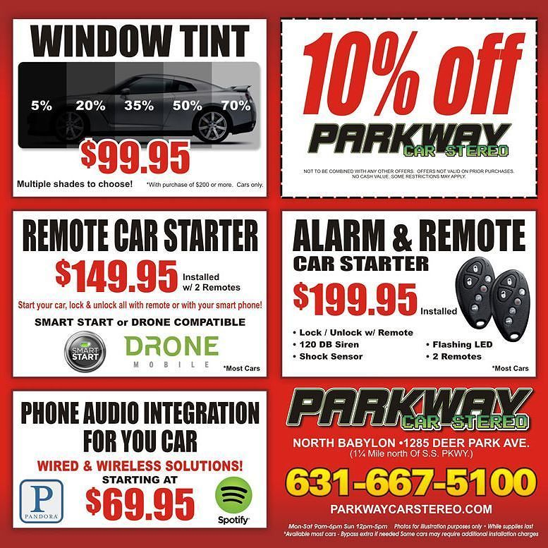 Black Friday Sale At Parkway Car Stereo In North Babylon Been Looking For A Gift For That Car Enthusiast In Your Life Babylon My Love Small Business Saturday