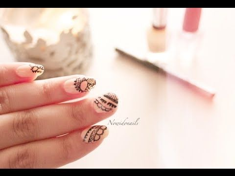Henna Nail Art This Is How We Do It Pinterest