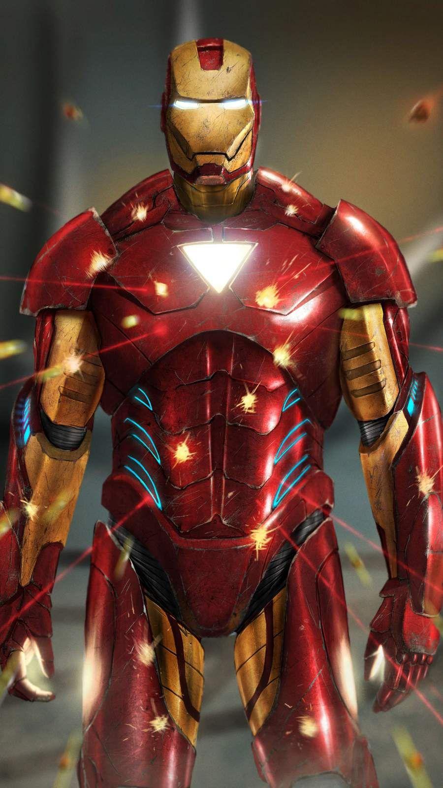 Iron Man 4K IPhone Shot Wallpaper Iron man art, Iron man