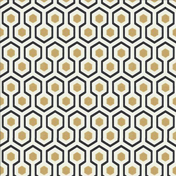 Papier peint hicks hexagon papier peint peindre et motifs - Papier a peindre castorama ...