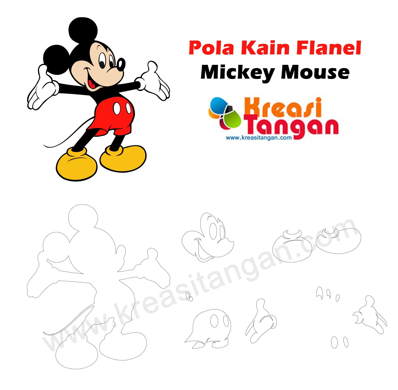 Pola Kain Flanel Lucu Felt Pattern Pinterest