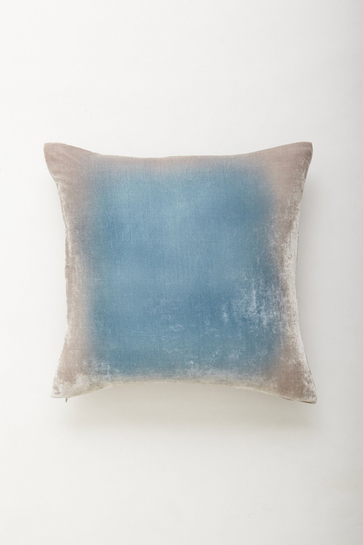 Kevin O Brien Ombre Velvet Pillow Velvet Pillows Ombre Velvet Pillows