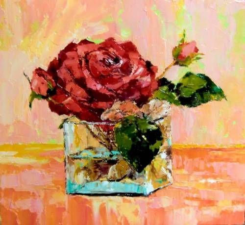 Flower rose by Skobeleva Liliya