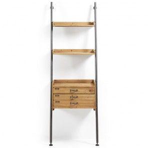 Belamo boekenkast La Forma met lades | Musthaves verzendt gratis ...