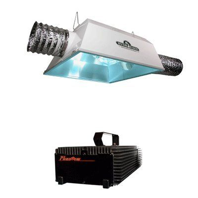 Hydrofarm Radiant 6 Air Cooled Reflector Phantom Dimmable Digital Ballast Grow Light Combo 250w Cl Grow Lights Best Led Grow Lights Grow Lights For Plants