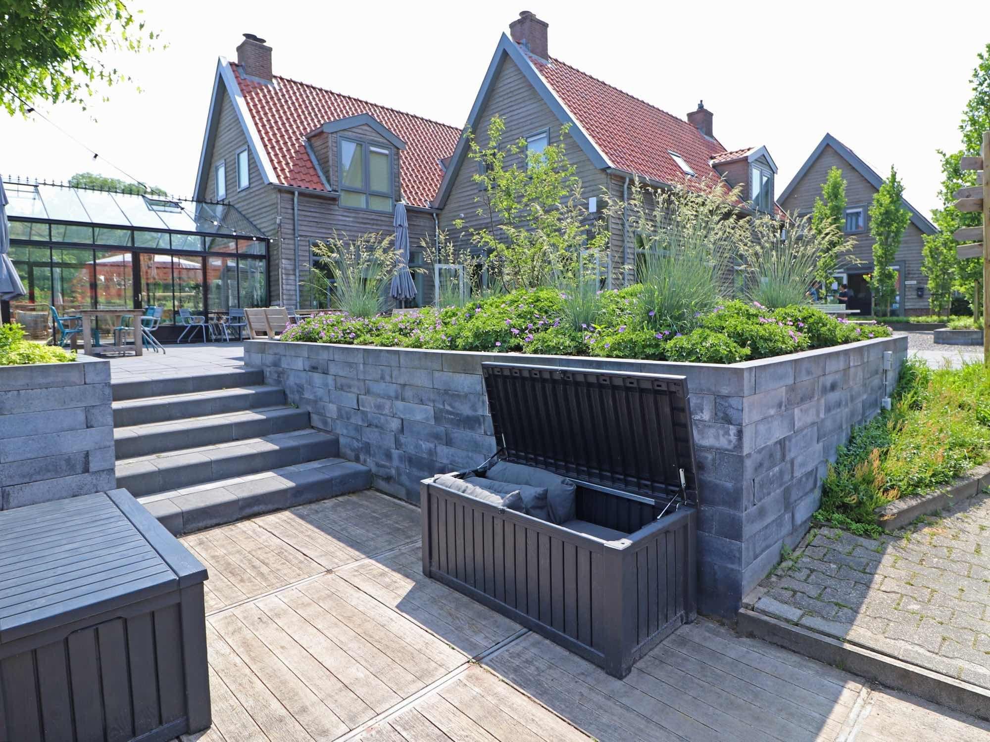Opbergbox Kussens Tuin : Met deze mooie opbergbox kunt u de kussens gemakkelijk opruimen. ze