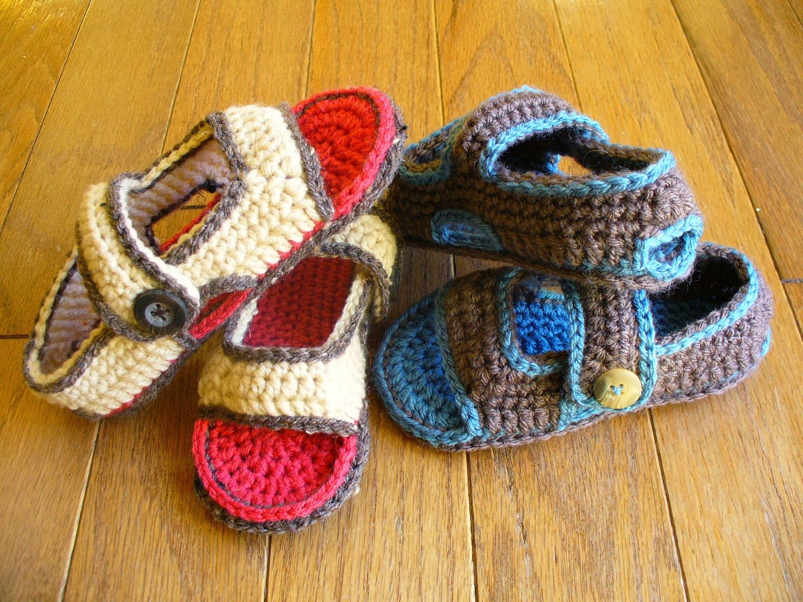 60+ Adorable and FREE Crochet Baby Sandals Patterns | Crochet baby ...