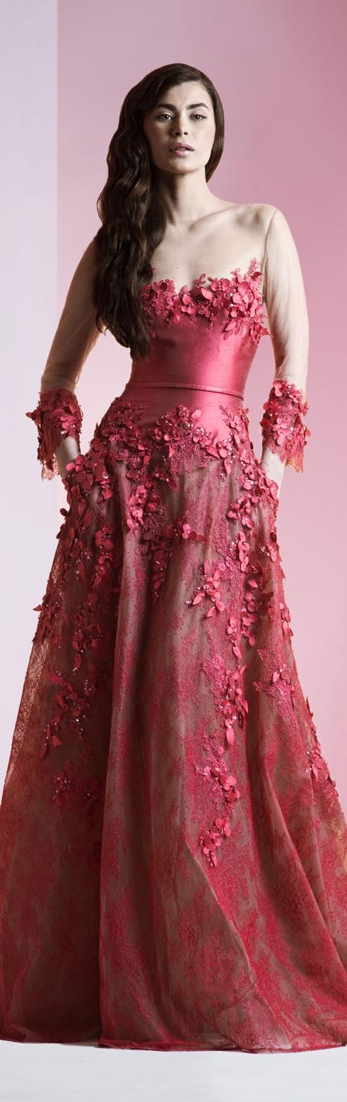 Ziad Nakad Haute Couture S/S 2014 | Vestidos | Pinterest ...