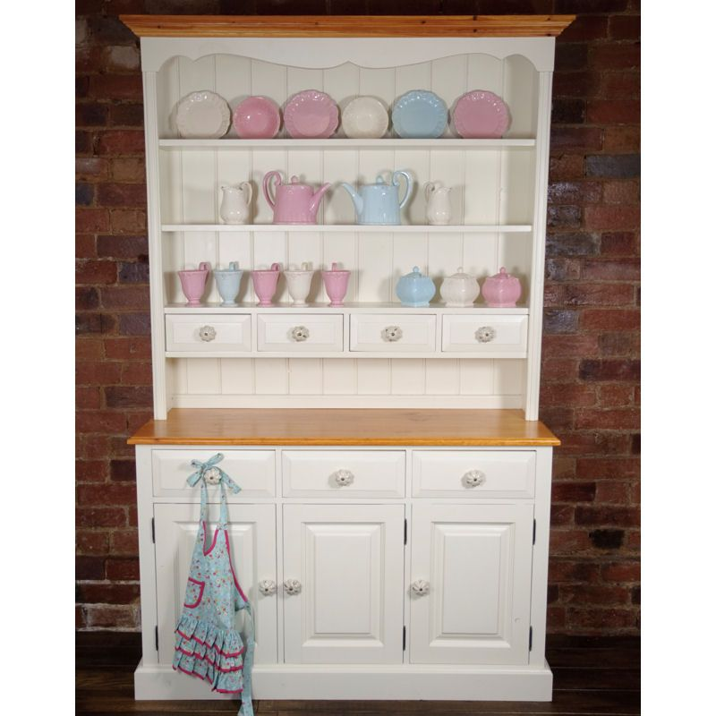 Old English Painted Dresser Kitchen Rustic Dressershabby Chic
