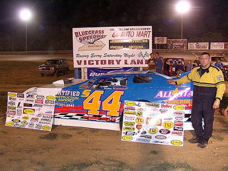 Johnny Wheeler Of Campbellsville Ky Won His Fourth 44 Auto Mart