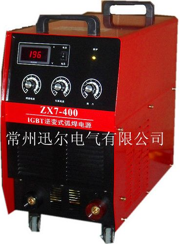 XUN ER IGBT Inverse electric welding machine       XUN ER Welder ZX7 400     XUN ER IGBT Inverse electric welding machine       XUN ER Welder ZX7 400