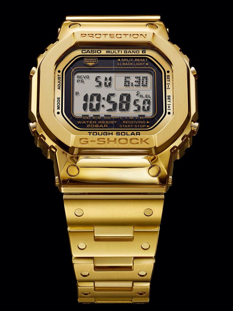 "The Solid 18 Karat Gold G-Shock. The first G-Shock ""concept"" watch ... 245f87bc5fbb"
