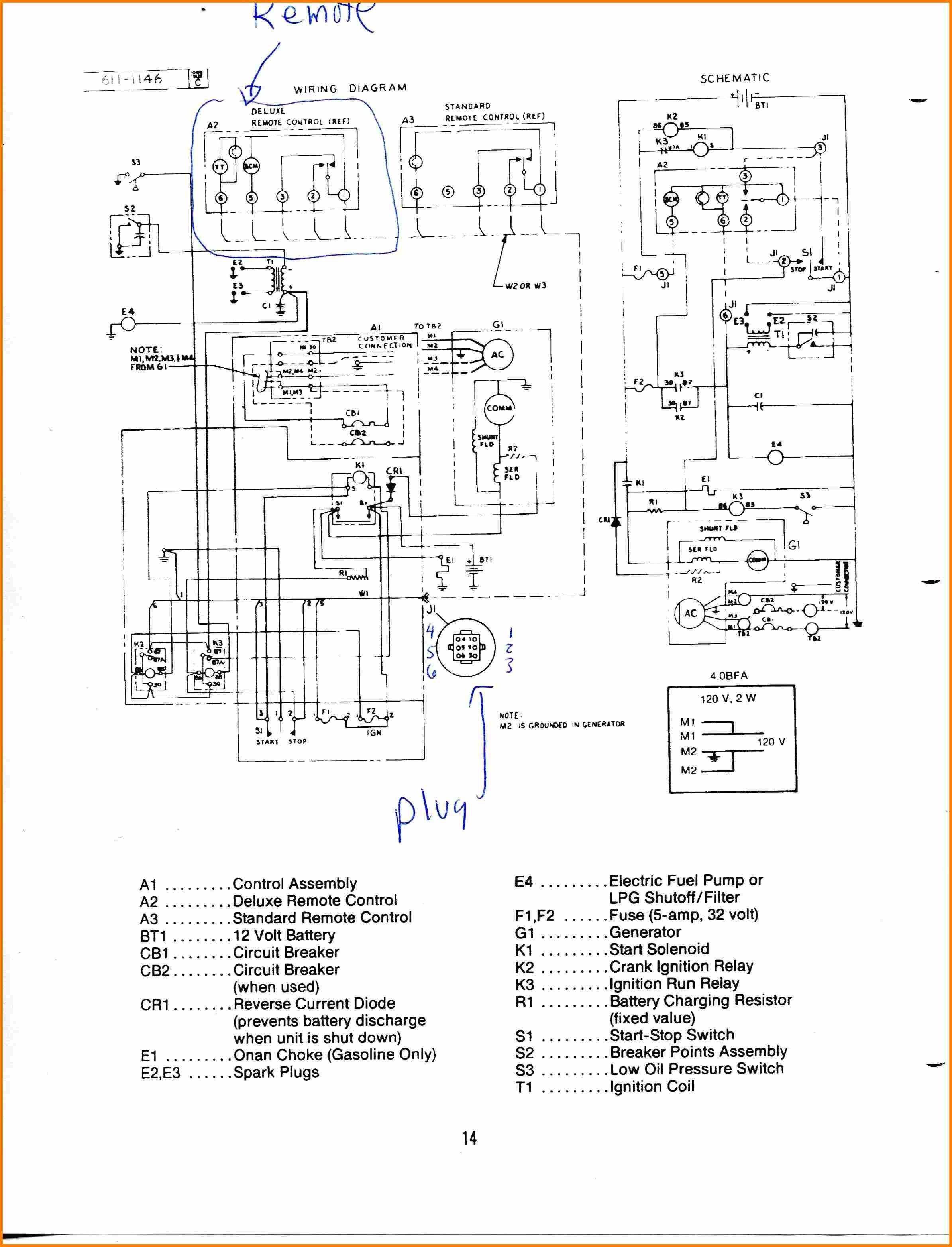 Elegant Rv Generator Wiring Diagram In 2020 Diagram Diagram Chart Generation