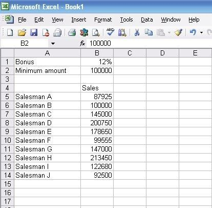 How To Use The If Function In Excel Experiments In Finance Excel Excel Spreadsheets Spreadsheet Design