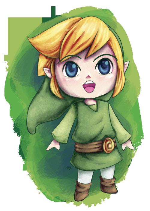 The Legend Of Zelda Wind Waker Cutie Doodle Dessin Zelda Dessin