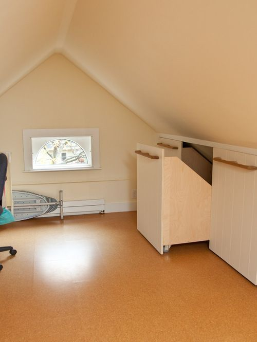 Knee Wall Storage Ideas Pictures Remodel And Decor Full House Renovations Attic Remodel Attic Rooms