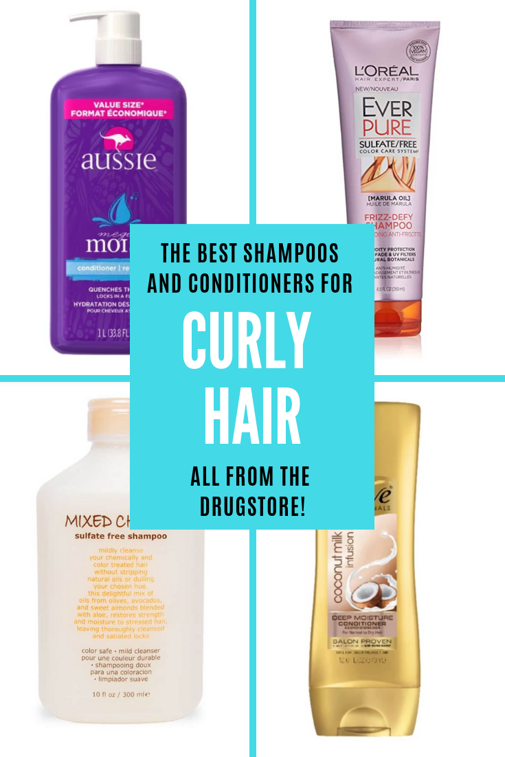 Favorite Drugstore Shampoos Conditioners For Curly Hair Simply