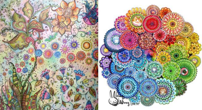 Johanna Basford Coloring Book For Adults