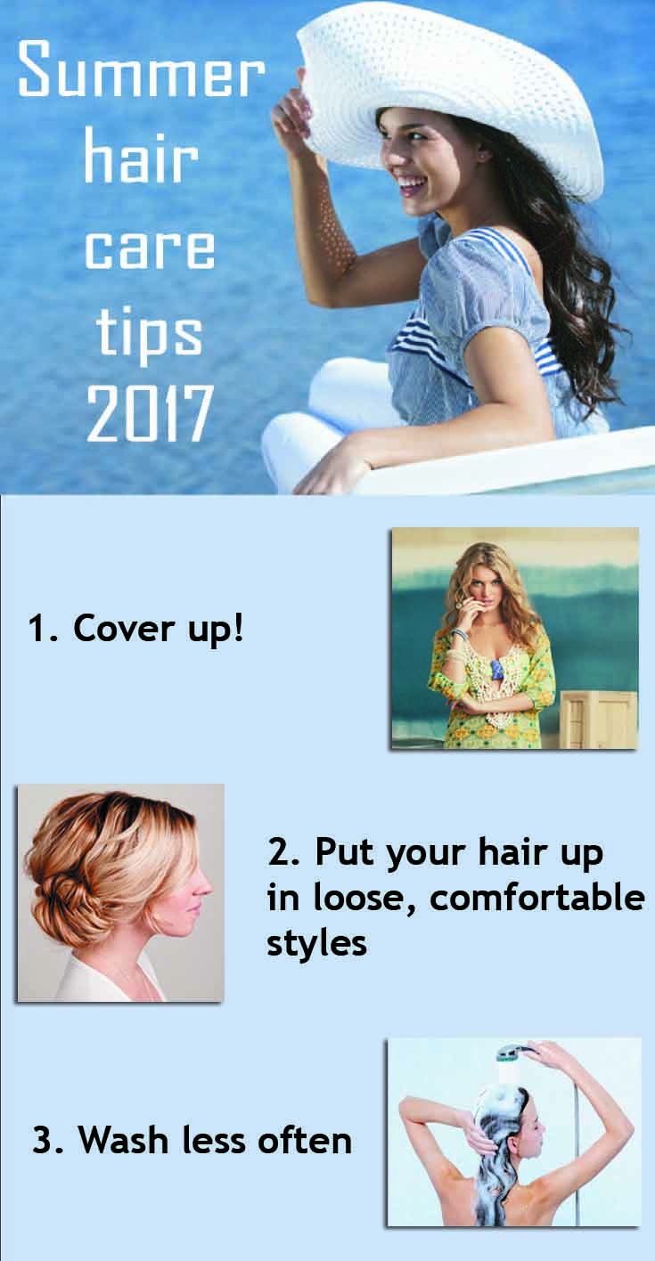 Hair Best care tip for summer pictures pictures