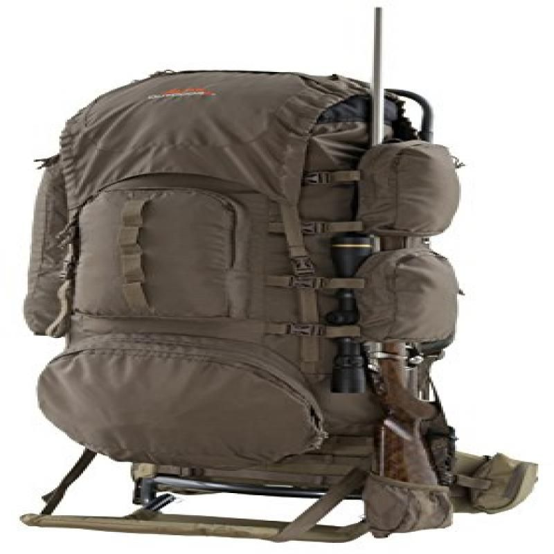 ALPS OutdoorZ Commander Pack Bag Frame Freighter Plus Hunting Hiking Top Camping