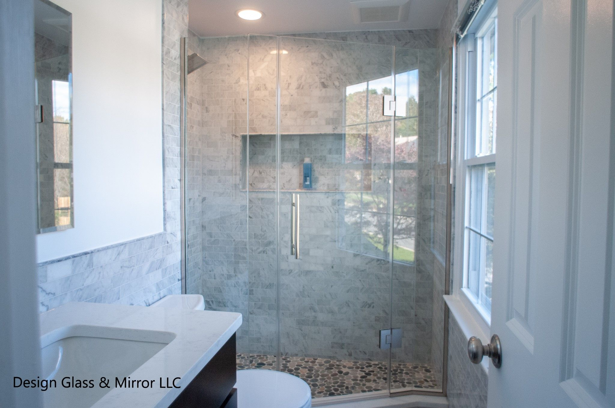 Check Out Our Latest Project A Custom Neo Angle Shower Enclosure