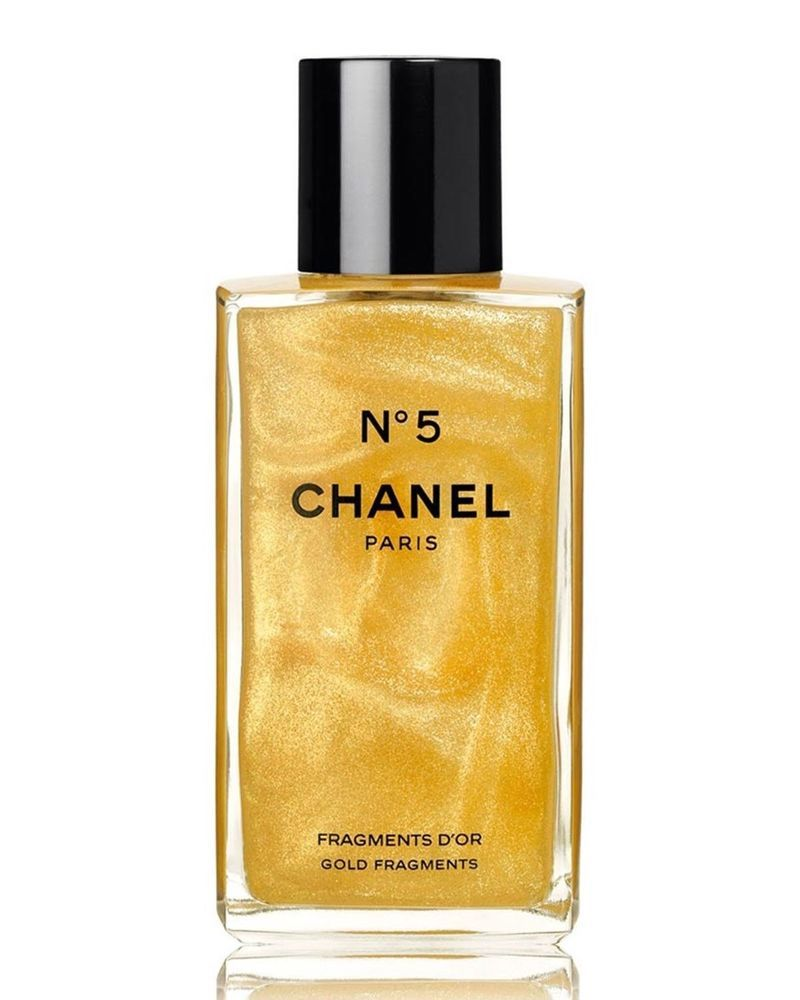 Chanel N5 Gold Fragments Sparkling Body Gel No 5 Discontinued 250