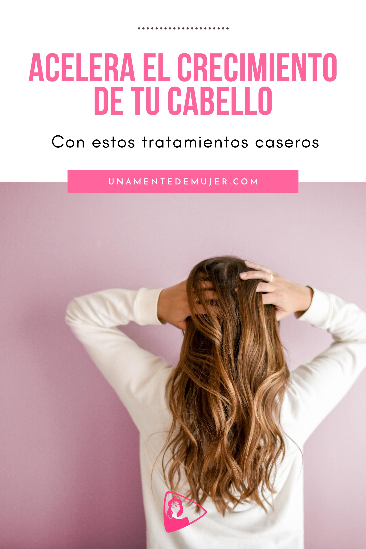5 tratamientos caseros para el crecimiento del cabello