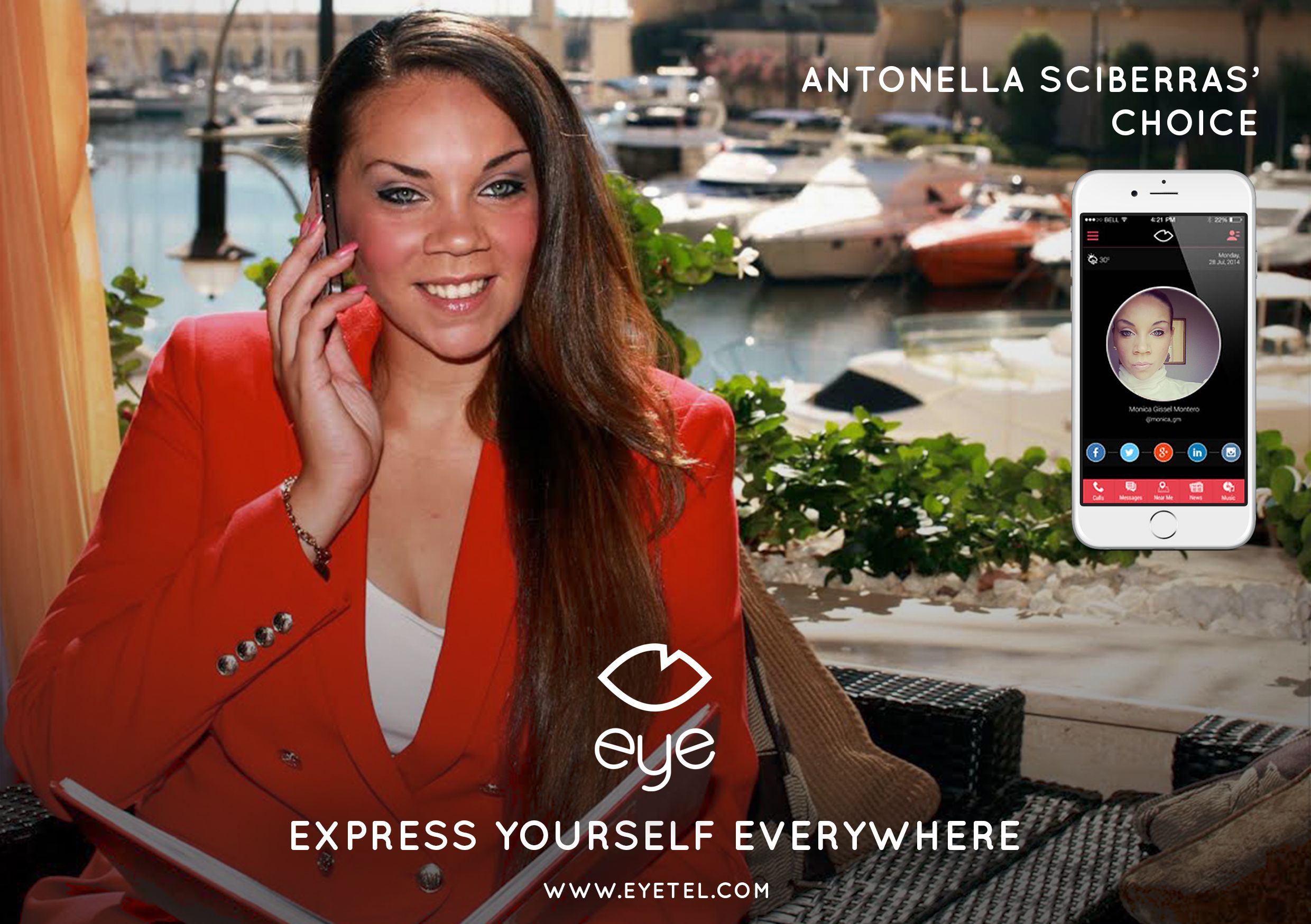 EYE Ambassador // Antonella Sciberras // Photo 1