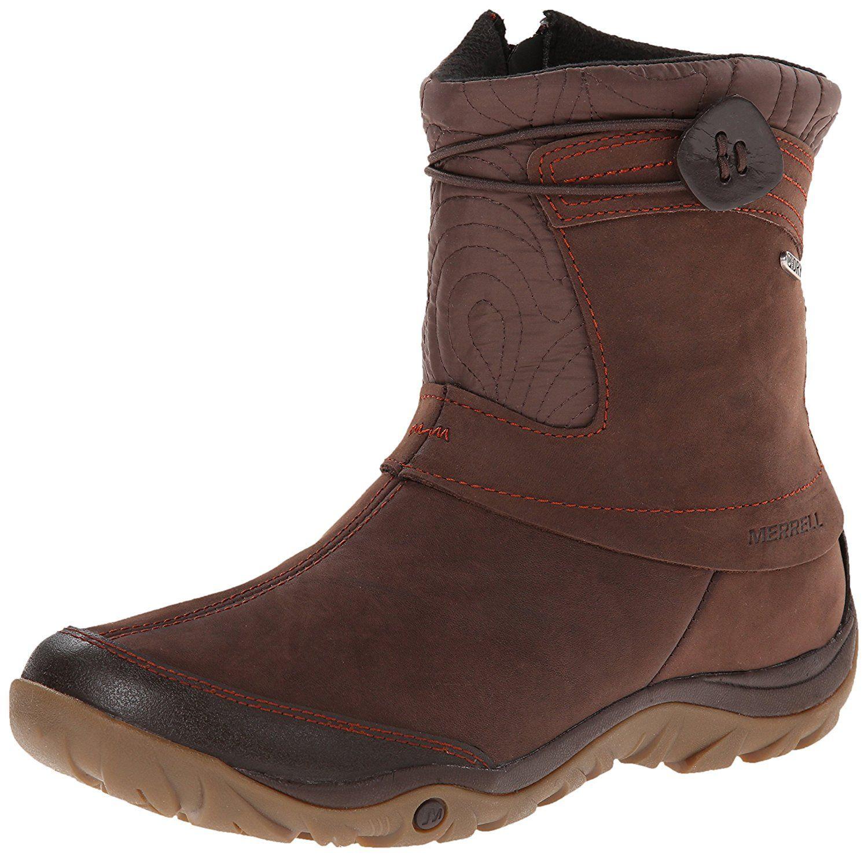 b6dd6a70 Merrell Women's Dewbrook Zip Waterproof Winter Boot *** To view ...