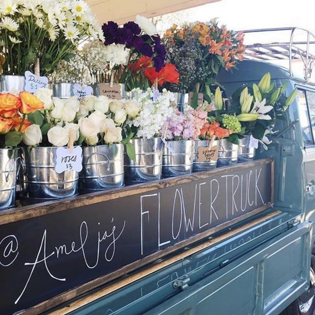 18 Most Beautiful Flower Truck Ideas To Inspire You