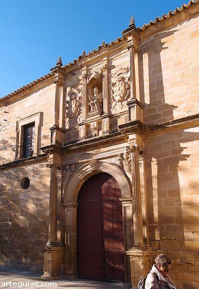 Fachada De La Iglesia De San Pedro Ubeda Fachadas De Iglesias Andalucia España Catedral