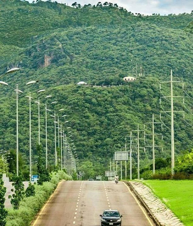 Islamabad Roads: View Of Margala Hills. Photo By @Xainsheikh