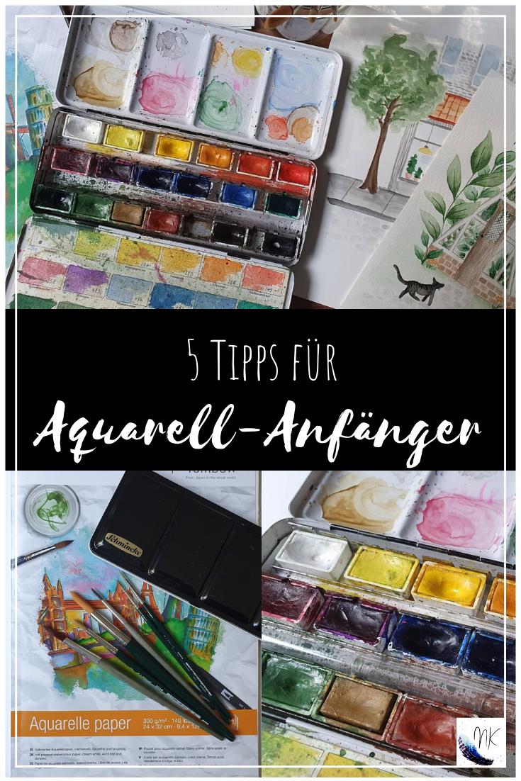 5 Tipps für Aquarell-Anfänger