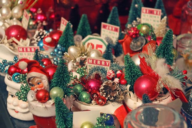 Best 25 Vintage Christmas Decorating Ideas On Pinterest