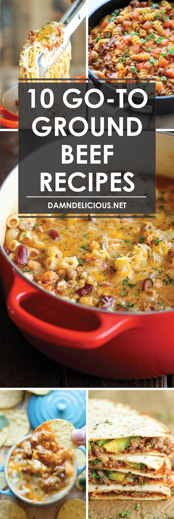 Photo of 10 Go-To Ground Beef Recipes – Damn Delicious