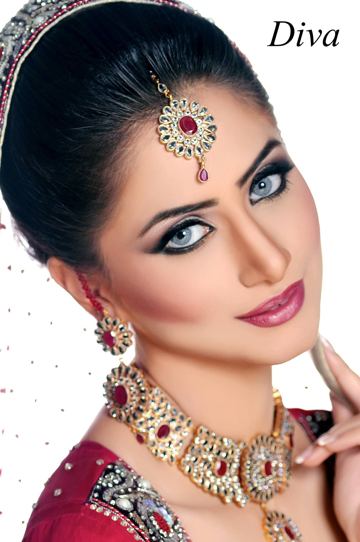 Makeup by diva beauty salon Bridal makeup, Models makeup