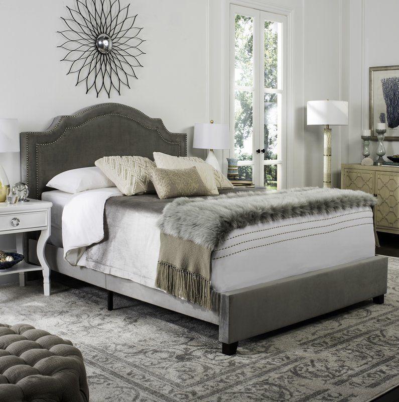 Avanley Upholstered Standard Bed Upholstered bed frame