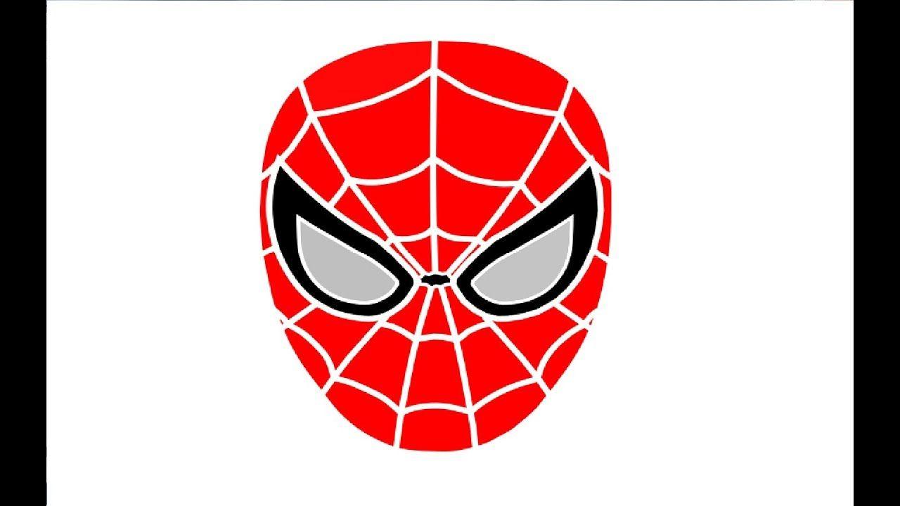 Spider Man Masks Coloring Pages for kids