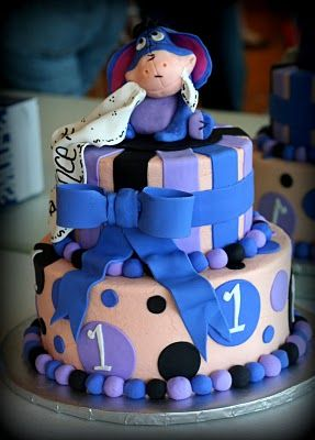 Marvelous Eeyore Birthday Cake For One Year Old If Want For A Girl Just Funny Birthday Cards Online Inifofree Goldxyz