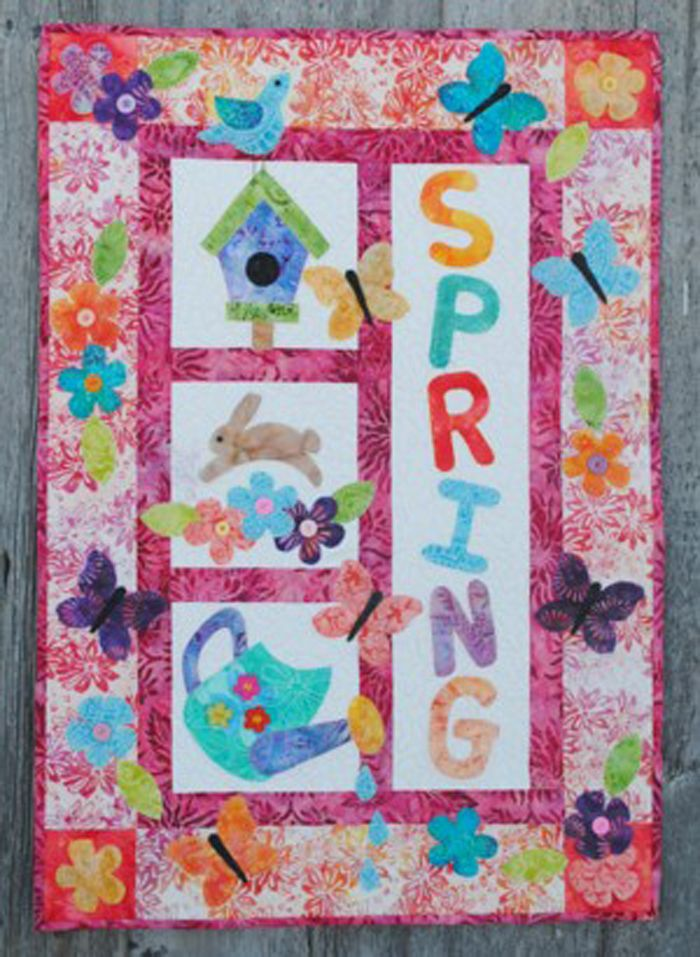 It's a Spring Thing Quilt Pattern FRD 1120 (advanced beginner