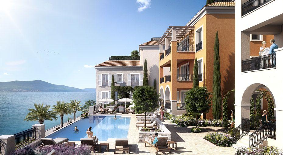 Ksenija Residences, Porto Montenegro - ReardonSmith Architects