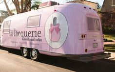 La Lacquerie, the cutest nail salon on wheels. | Lonny
