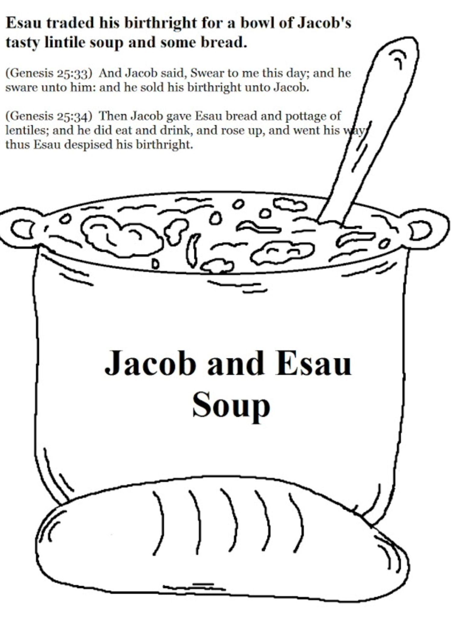 Jacob And Esau Soup