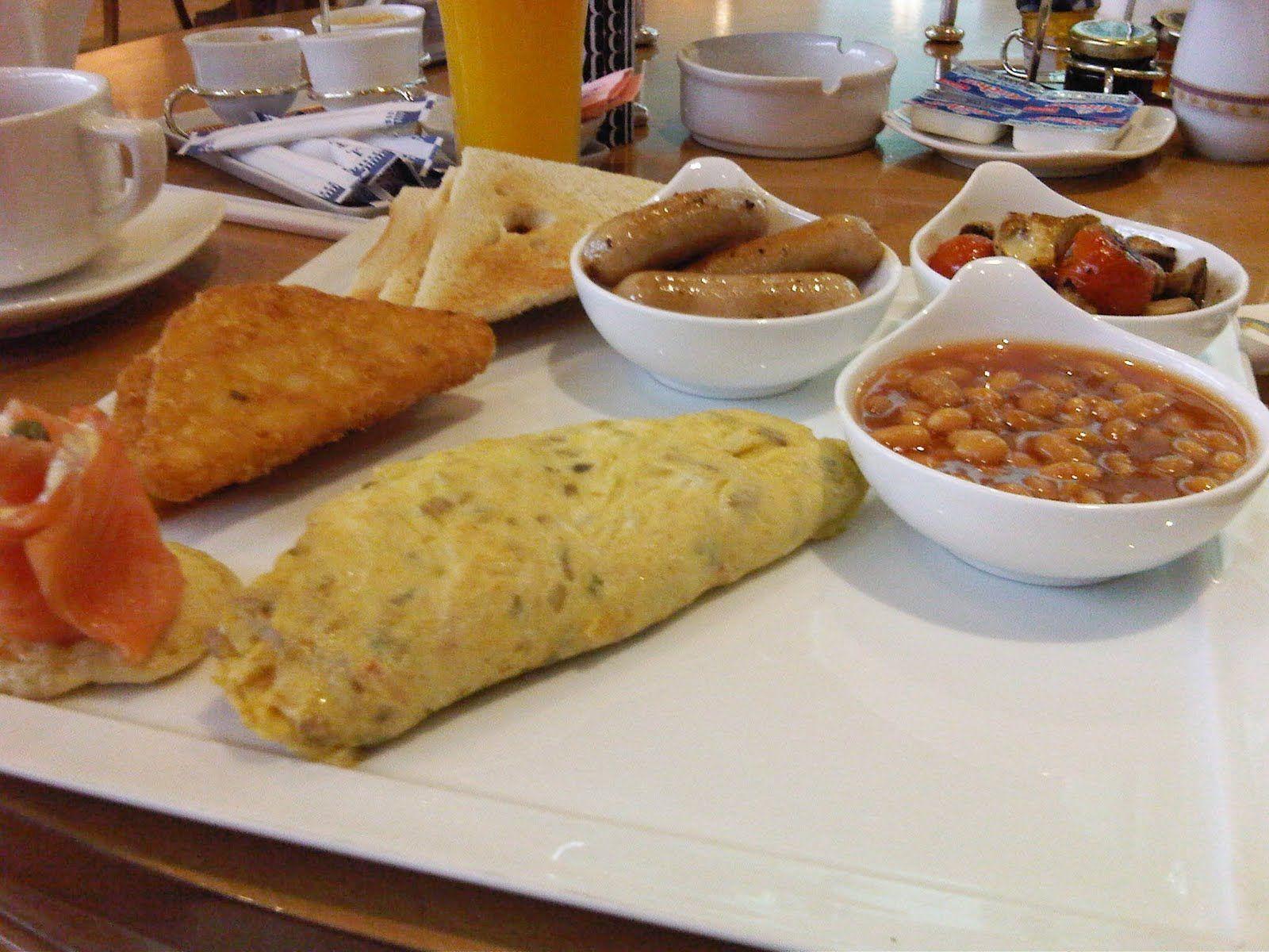 Fauchon Breakfast :)